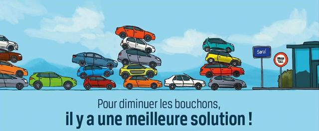 covoiturage - stop bouchons